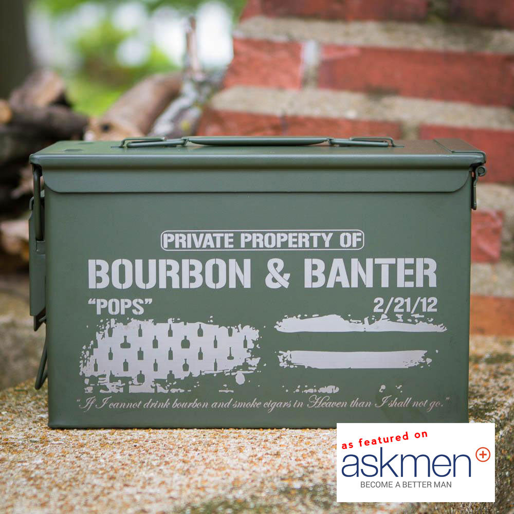 Bourbon Patriot Ammunition Box