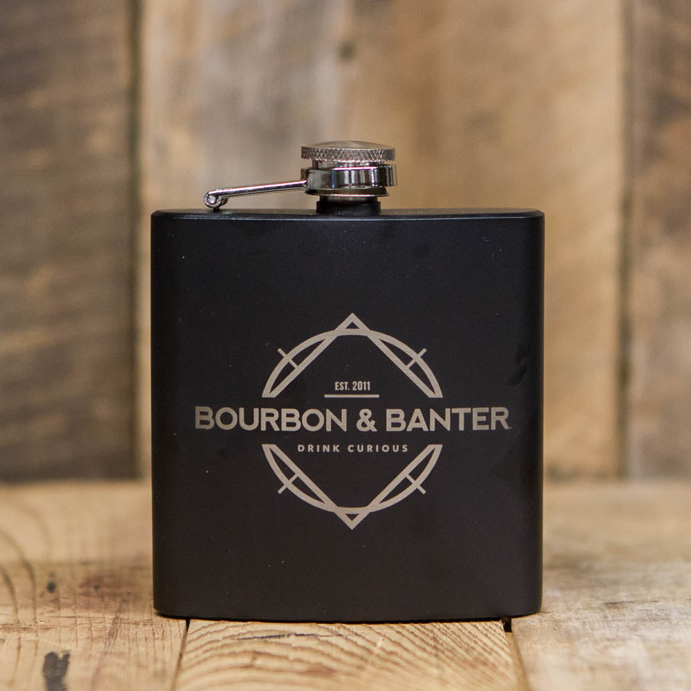 Bourbon & Banter Black Flask