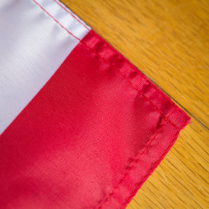All flag edges are sewn for great strength.