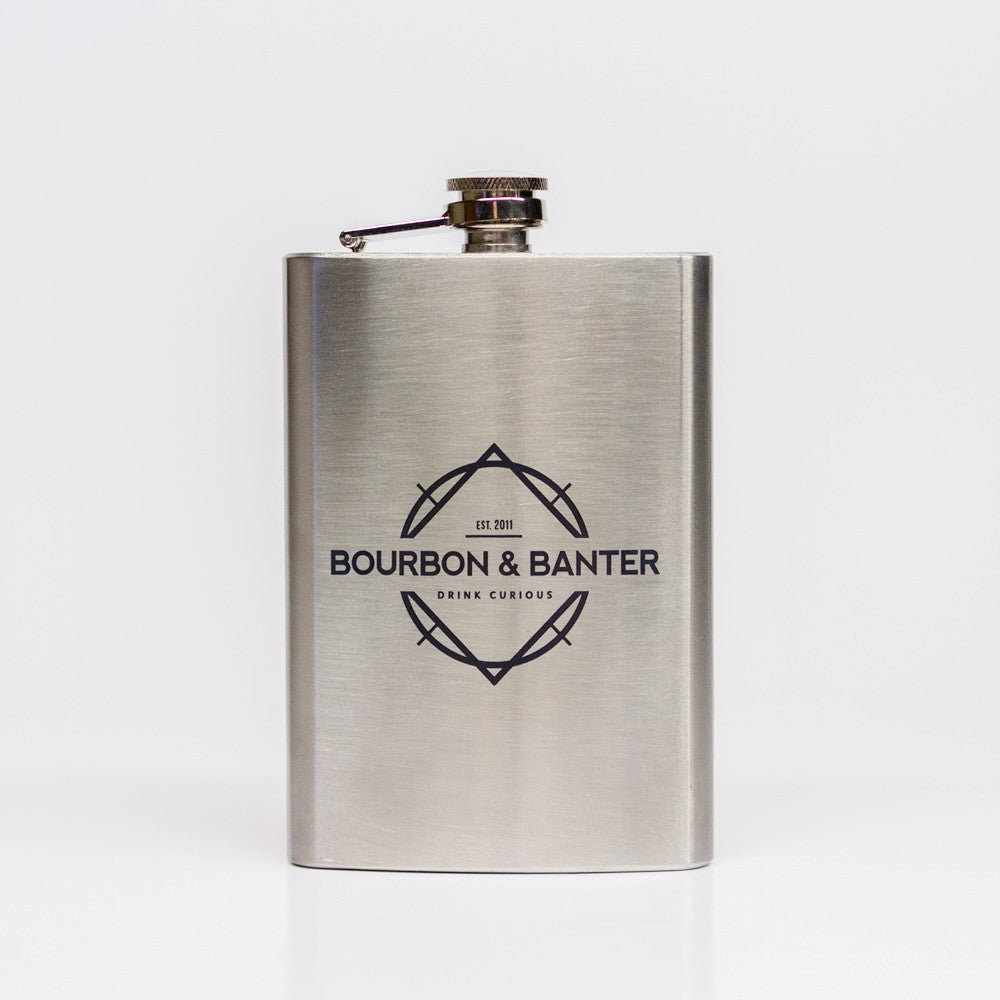 Bourbon & Banter Flask