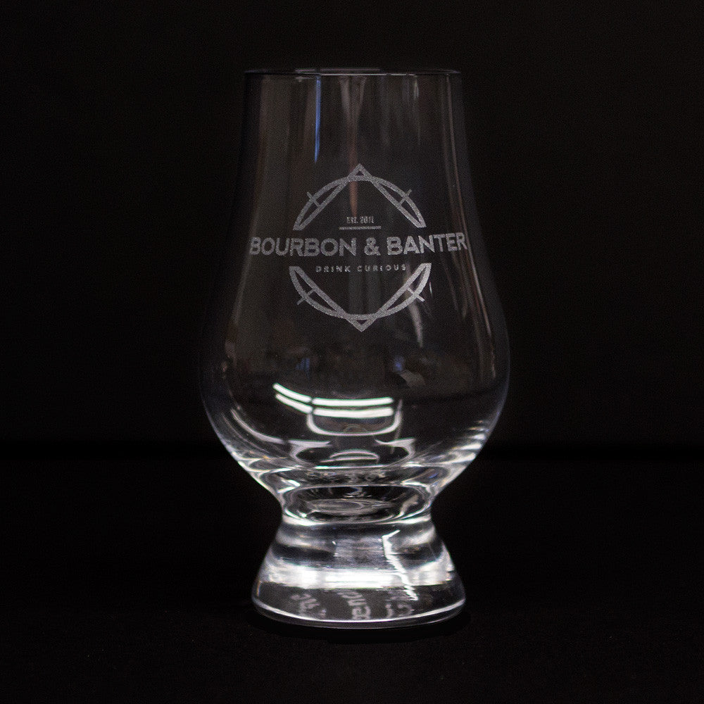 Bourbon & Banter Glencairn Whisky Glass