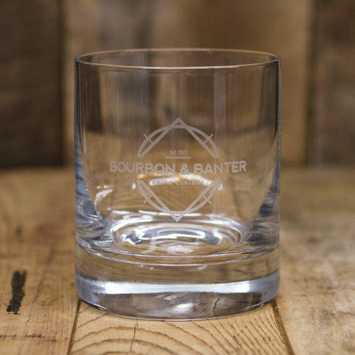 Bourbon & Banter Rocks Glass