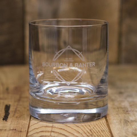 Bourbon & Banter</br>Rocks Glass