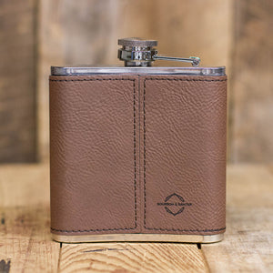 Old Hickory Leather Flask