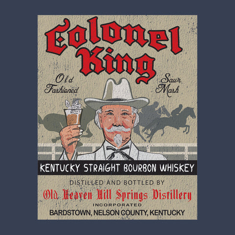 Colonel King Bourbon</br>Men's T-Shirt