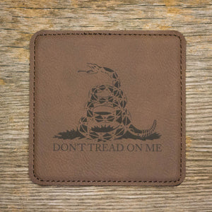 """Don't Tread On Me"" Coaster Set"