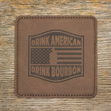 Drink American, Drink Bourbon Coaster Set