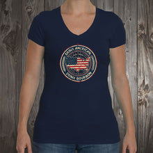 Drink American Emblem Women's V-Neck