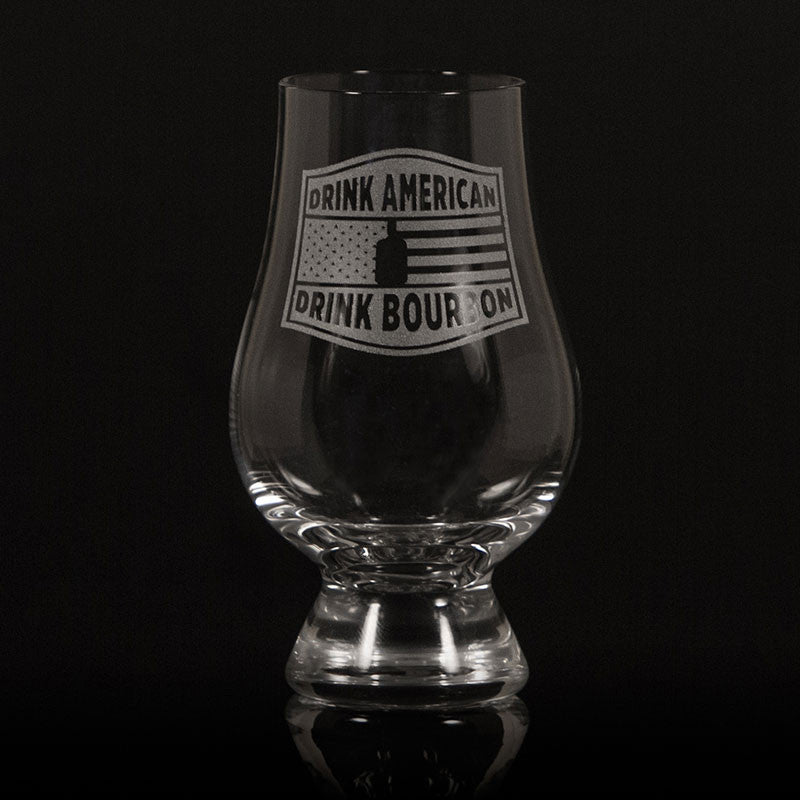 """Drink American""</br>Glencairn Whisky Glass"