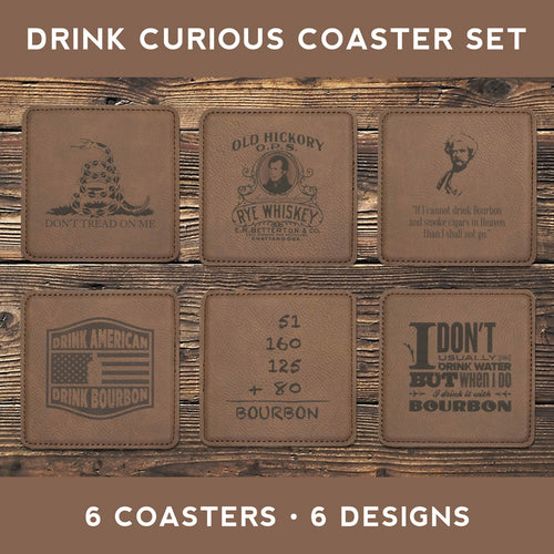 Drink Curious Coaster Set