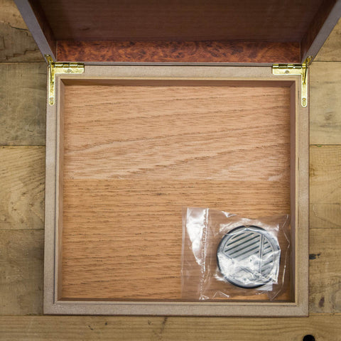 """If I Cannot Drink Bourbon"" Humidor"