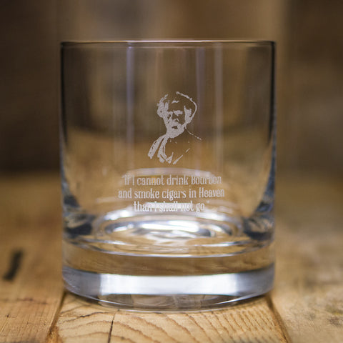 """If I Cannot Drink Bourbon""</br>Rocks Glass"