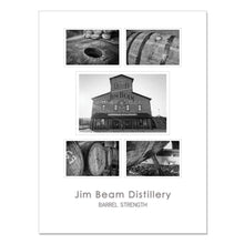 "Jim Beam Distillery – 18x24"" Framed Poster"
