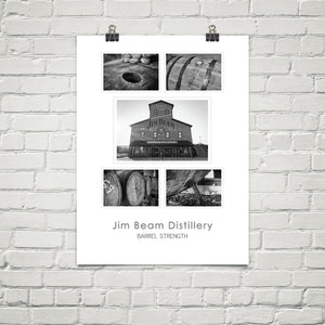 "Jim Beam Distillery – 18x24"" Poster"