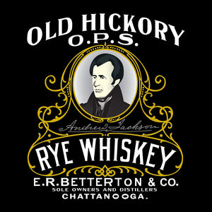 Old Hickory Rye Whiskey Women's V-Neck
