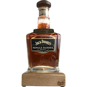 Bourbon & Whiskey Bottle Liquid Desk Lamp