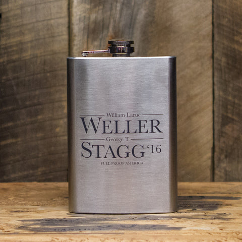 Weller Stagg '16 Flask