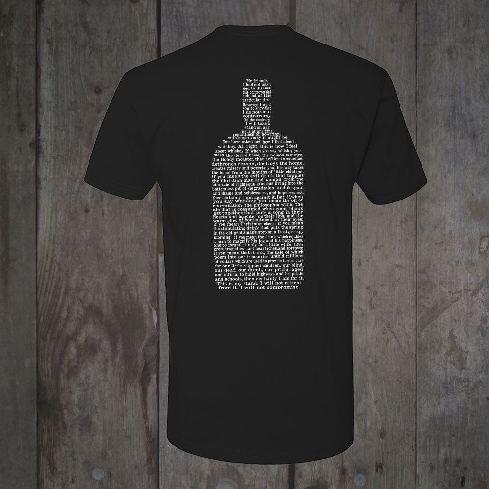 The Whiskey Speech</br>Men's T-Shirt