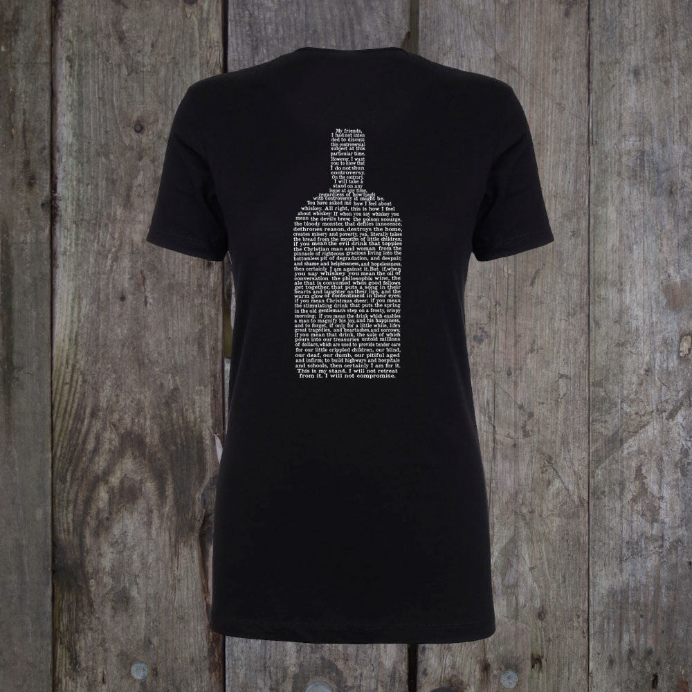 The Whiskey Speech Women's T-Shirt