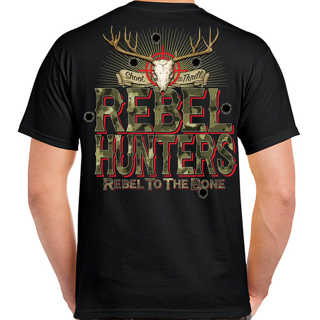 Rebel Hunters Rebel to the Bone T-Shirt