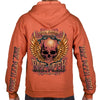 2020 Bike Week Daytona Beach Rockin' Skull Zip-Up Hoodie