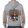 2020 Bike Week Daytona Beach Beach Rider Zip-Up Hoodie