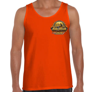 2020 Bike Week Daytona Beach Official Logo Tank Top