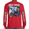 2021 Bike Week Daytona Beach 80th Anniversary Long Sleeve