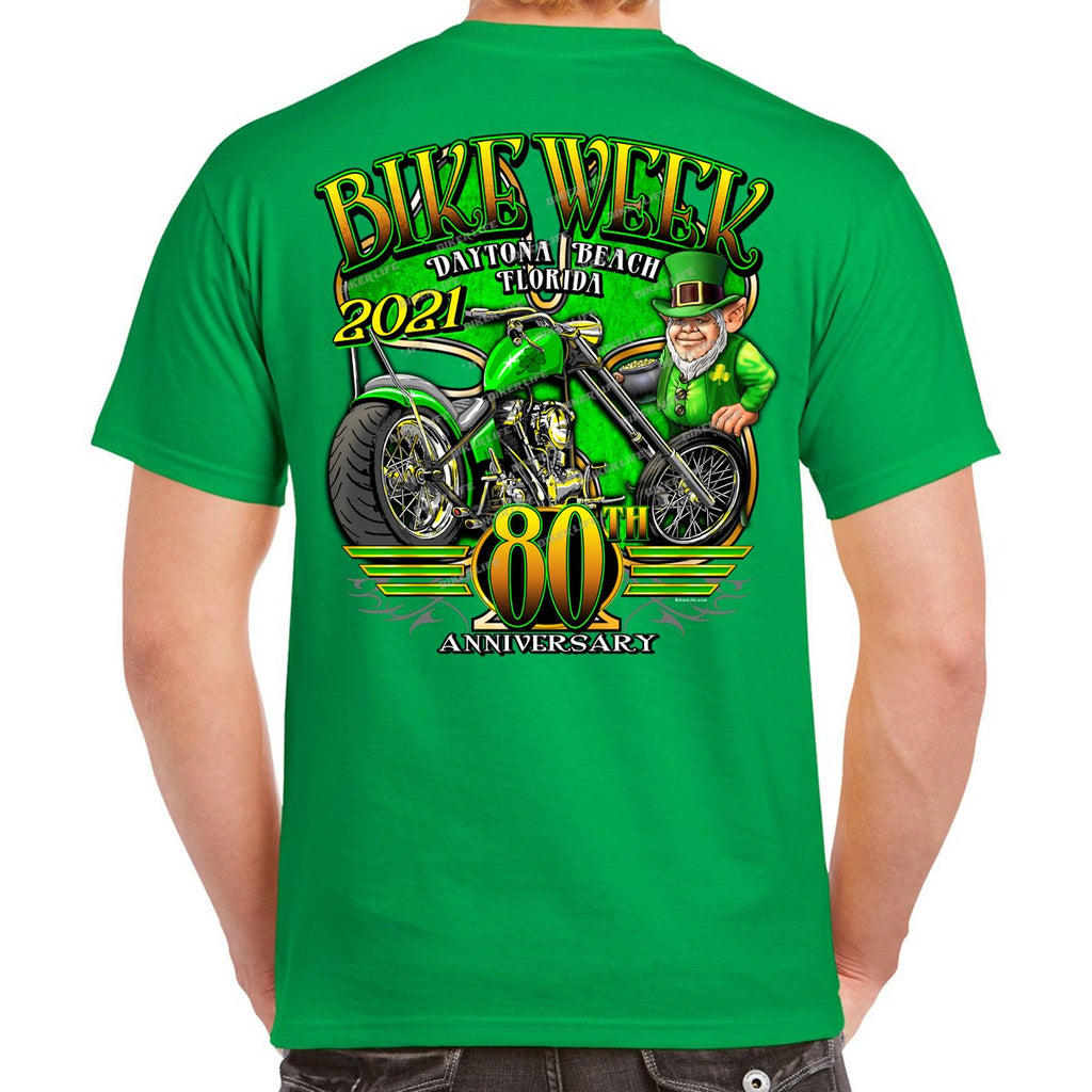 2021 Bike Week Daytona Beach Lucky Clover T-Shirt