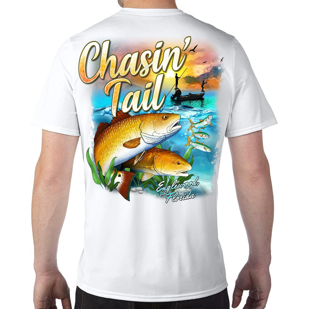 Englewood Beach, FL Chasin' Tail Performance Tech T-Shirt