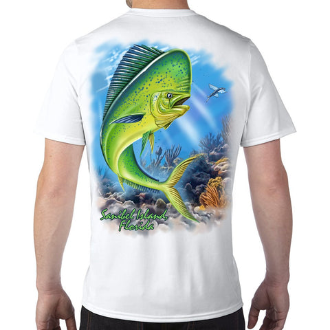 Sanibel Island, FL Mahi Performance Tech T-Shirt