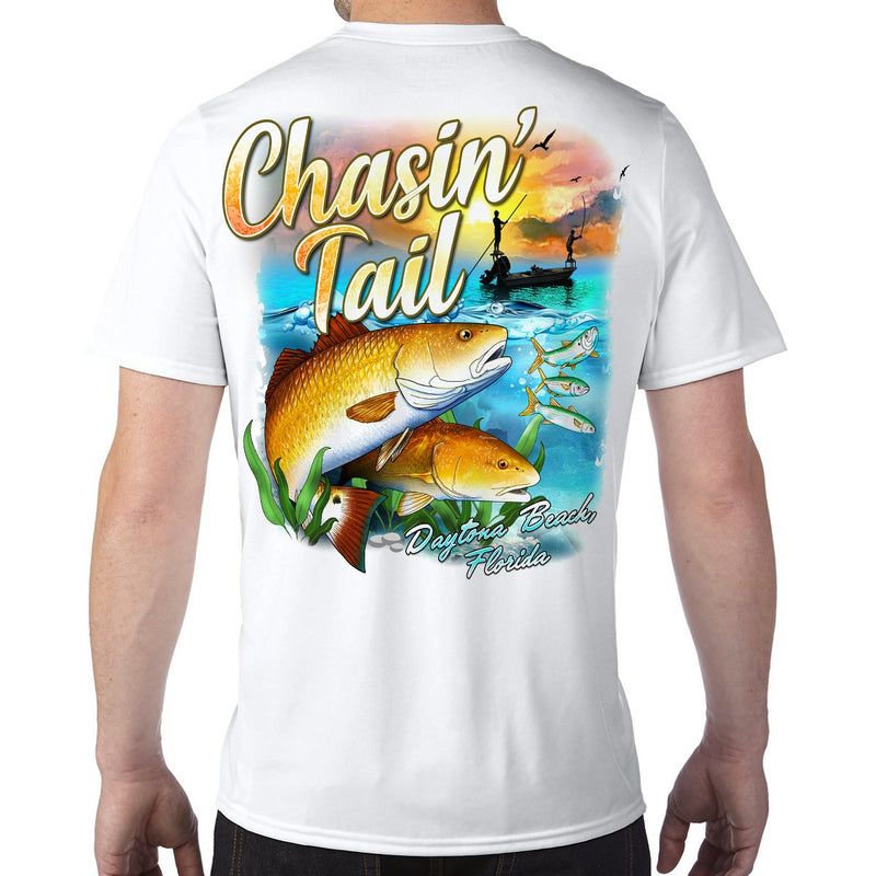 Daytona Beach, FL Chasin' Tail Performance Tech T-Shirt
