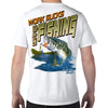 Siesta Key, FL Work Sucks, Let's Go Fishing Performance Tech T-Shirt