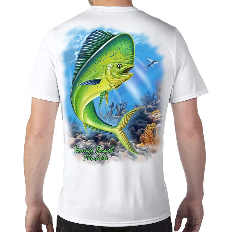 Venice Beach, FL Mahi Performance Tech T-Shirt