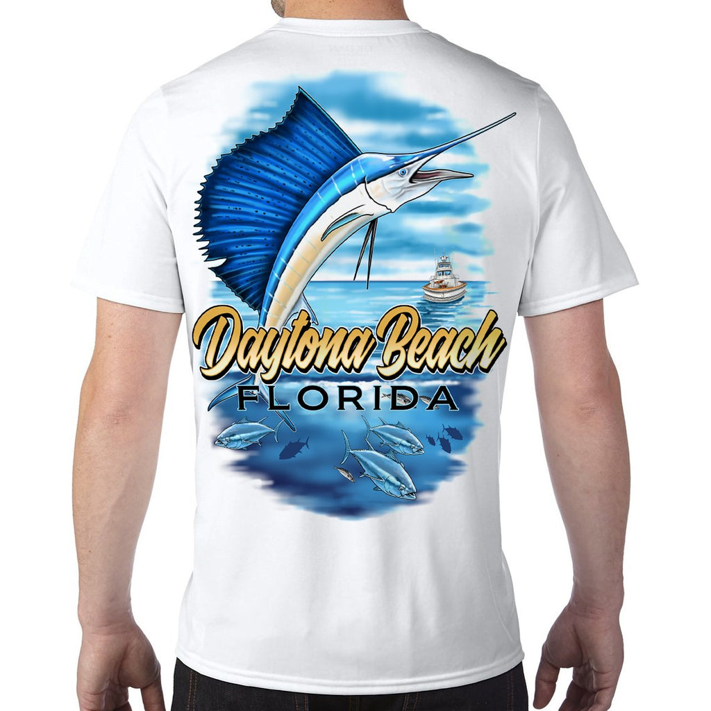Daytona Beach, FL Sailfish Performance Tech T-Shirt