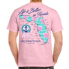 Daytona Beach, FL Life is Better in Florida T-Shirt