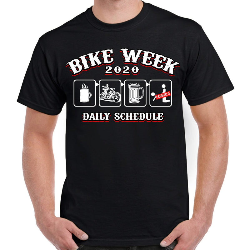 2020 Bike Week Daytona Beach Schedule T-Shirt