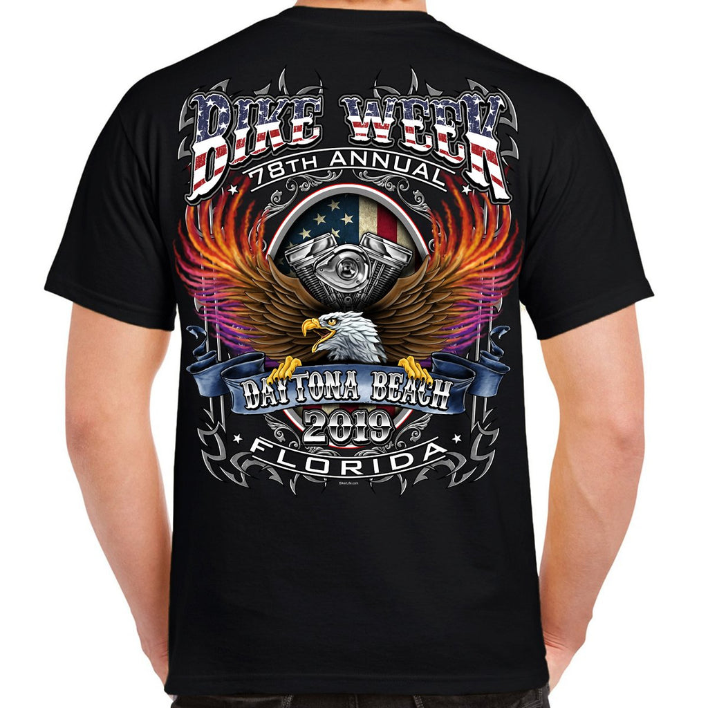 2019 Bike Week Daytona Beach B-Strong T-Shirt