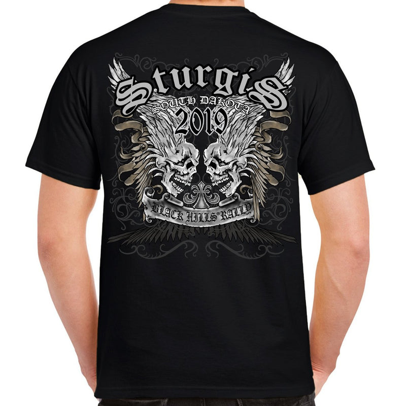 2019 Sturgis Black Hills Rally Afflicted T-Shirt