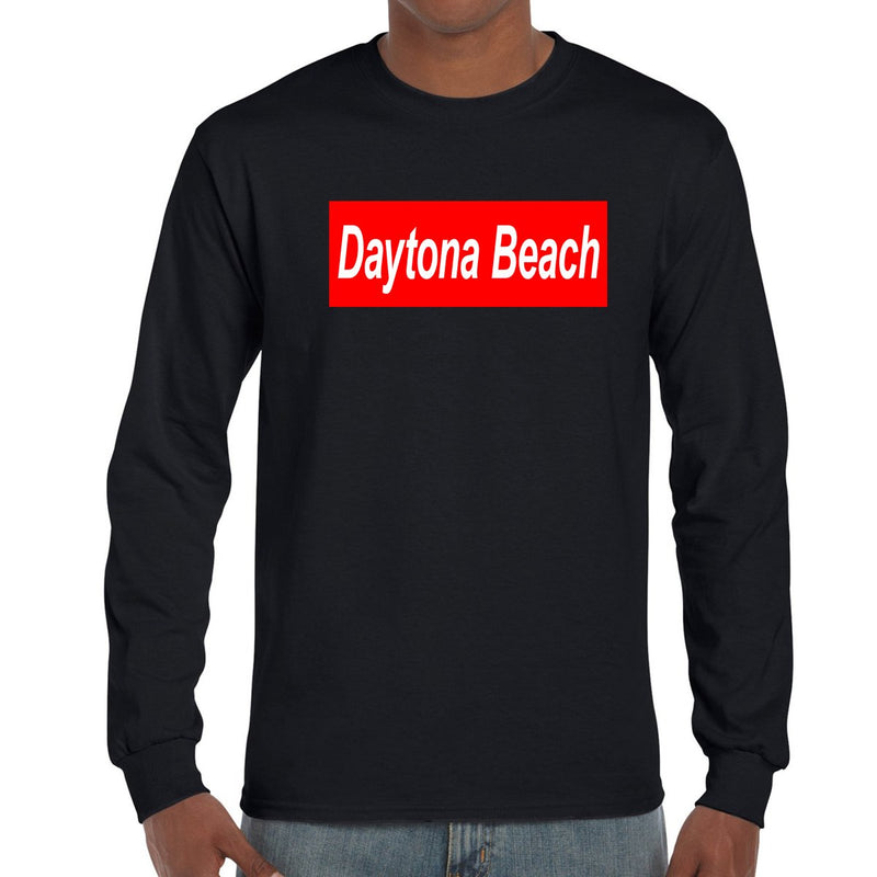 Daytona Beach, FL Squared Long Sleeve T-Shirt