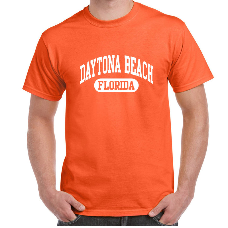 Daytona Beach, FL Athletic Print T-Shirt
