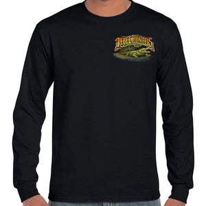 Rebel Hunters Truck and Gator Long Sleeve T-Shirt