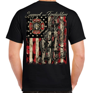 Support Our Firefighters T-Shirt