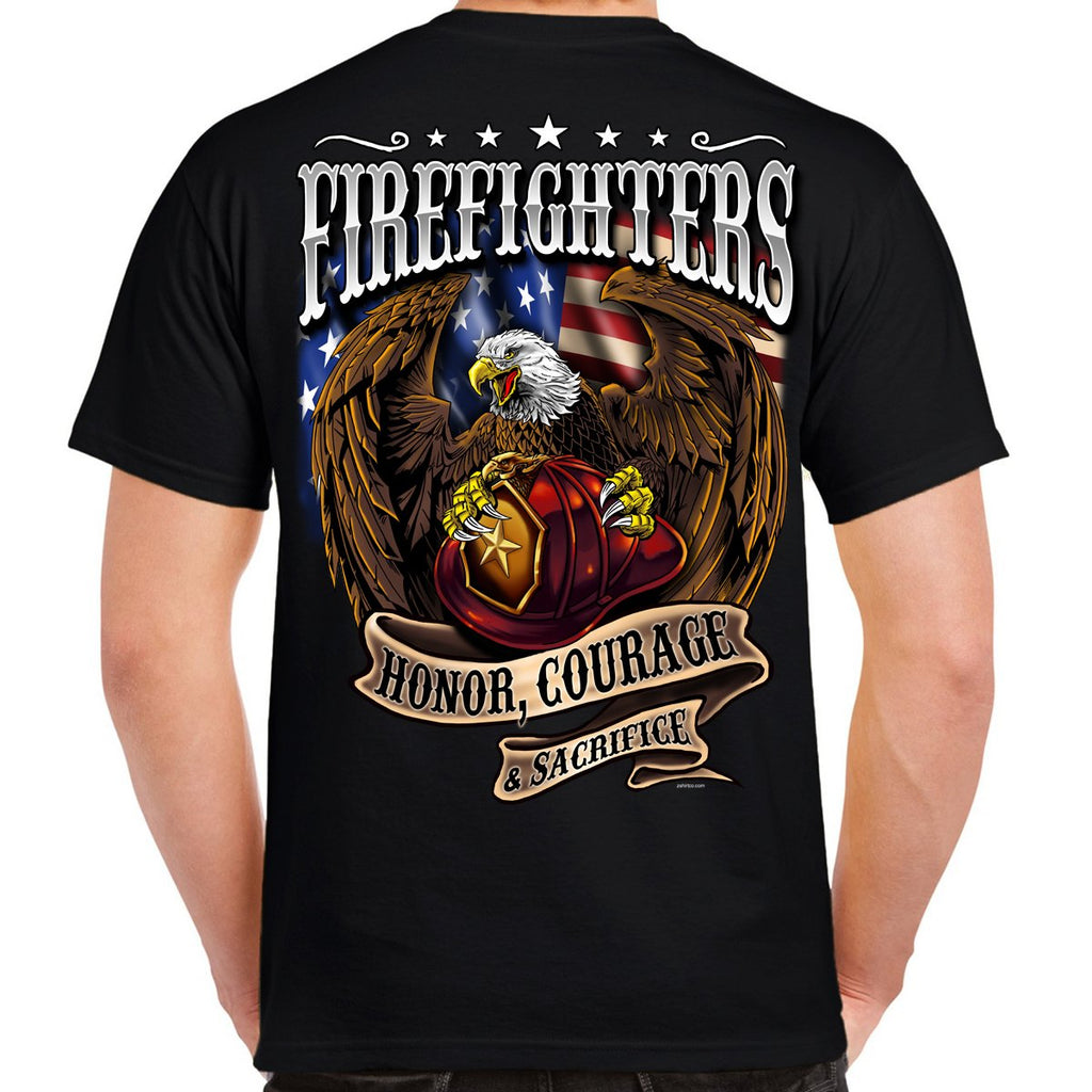 Firefighter Eagle T-Shirt