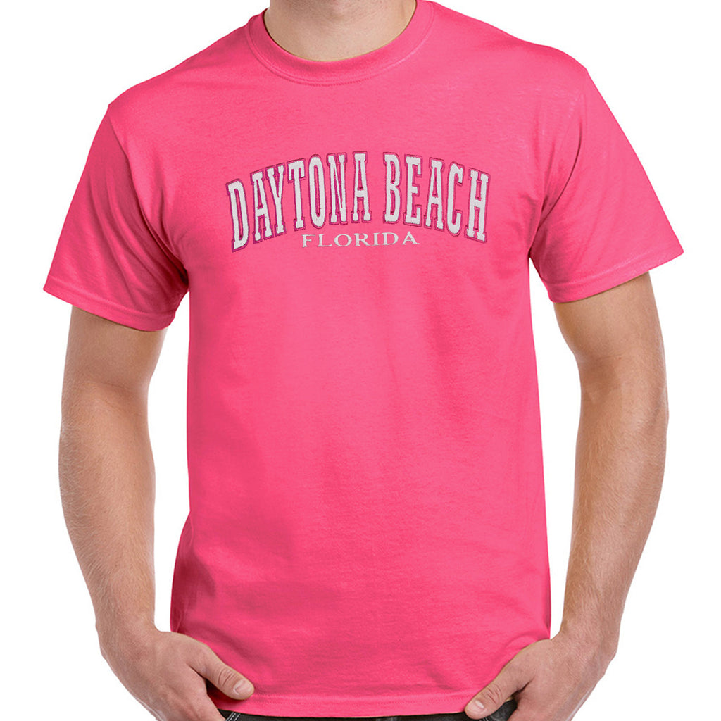 Daytona Beach, FL Embroidered T-Shirt