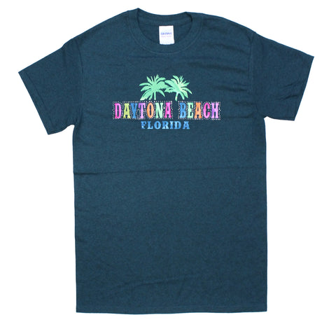 Daytona Beach, FL Shiny Color Transfer T-Shirt