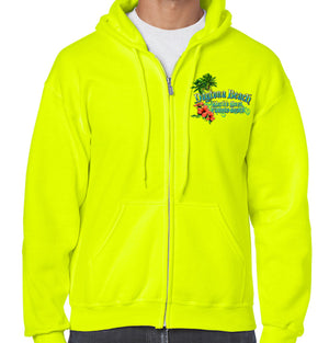 Daytona Beach, FL Collage Zipper Hoodie