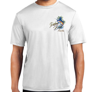 Daytona Beach, FL Florida's Marlin Performance Polyester Shirt