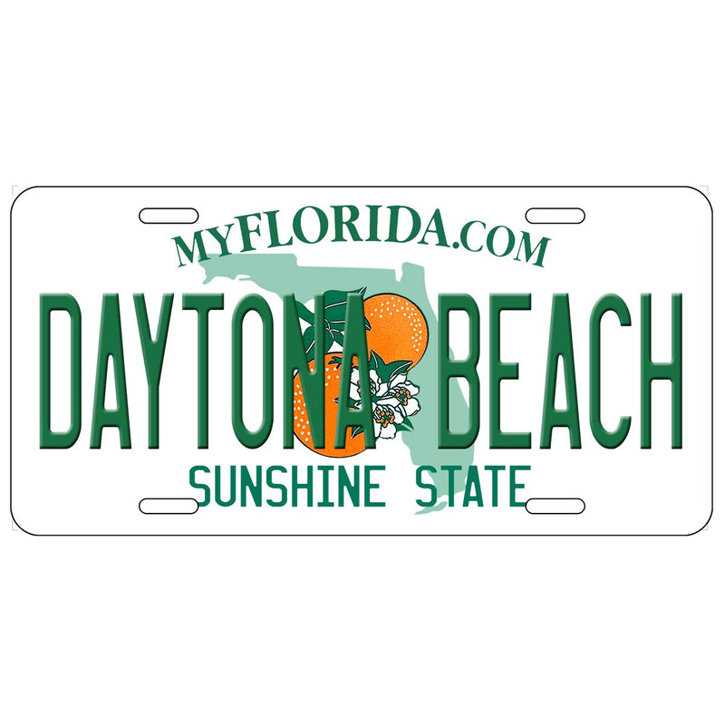 Daytona Beach, FL Florida License Plate