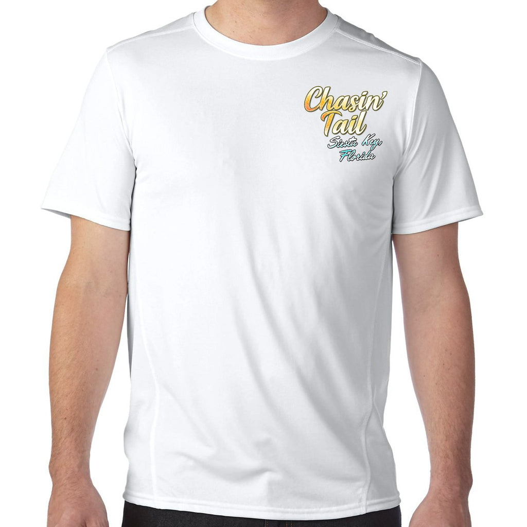 Siesta Key, FL Chasin' Tail Performance Tech T-Shirt